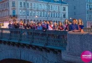 Выпускной, 120 школа. В Петергоф на метеоре!