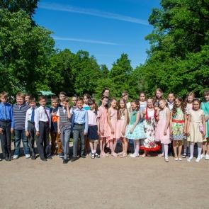 Выпускной учащихся 511 школы
