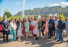 Выпускной в 11 классе 642 школы, Санкт-Петербург