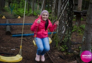Веревочный парк, выпускной в начальной школе