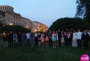 Выпускной в ночь праздника Алых Парусов