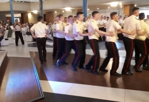 Оценка выпускного от Суворовского училища, отзыв