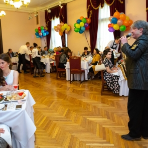 Выпускной в особняке Матильды Кшесинской