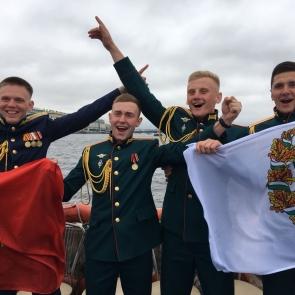 Выпуск лейтенантов академии связи им. С.М. Буденного