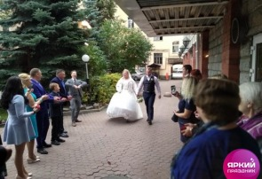 Провели ещё одну яркую свадьбу!
