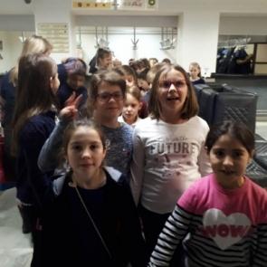 Экскурсия в музей, Школа Филиппка
