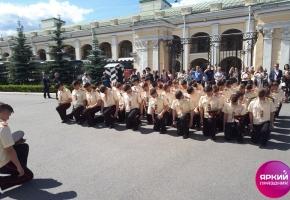 Проведение вечера для выпускников Суворовского училища