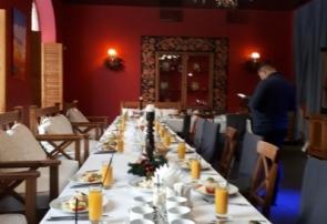 В ресторане Романс-Кафе в Петергофе