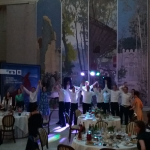 Выпускной в зале Бенуа в Русском музее