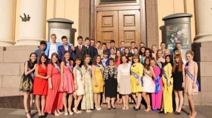 Выпускной вечер в корпусе Бенуа Русского музея