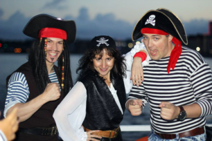 Выпускной на фрегате с пиратами