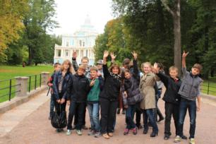 Прием групп туристов в Санкт-Петербурге