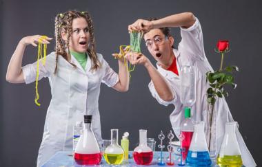 Выпускной в формате научного шоу