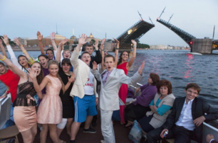 Выпускной вечер — Петербург Белых ночей