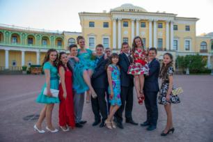 Выпускной в Павловском дворце