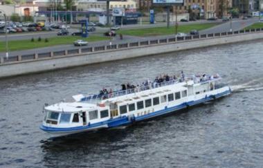 Выпускной вечер на борту теплохода «Москва» и «Нева»