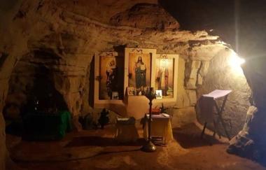 Посещение пещер в Саблино