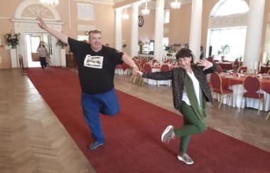 Выпускной в Большом Колонном зале Павловского дворца