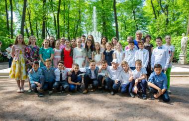 Выпускной 18 мая, школа 148 Санкт-Петербург