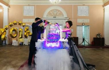 Благодарность за организацию выпускного вечера в ресторане «Колонный зал Павловского дворца»