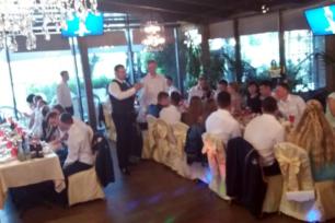 Выпускной в ресторане «Алые Паруса» для выпускников военной академии