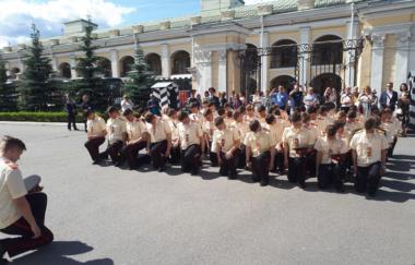 Отзыв о выпускном в Суворовском военном училище